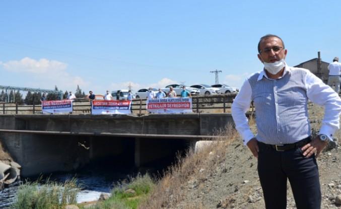 CHP'li Ünal Ateş'ten Aksu Nehrinin Temizlenmemesine Tepki