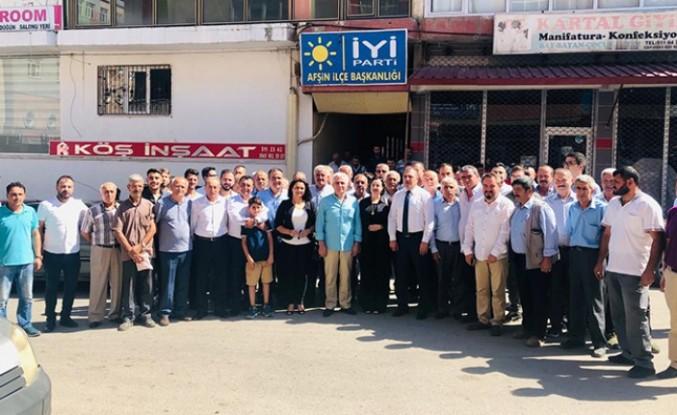 İYİ Parti Afşin İlçe Teşkilatında Coşkulu Bayramlaşma