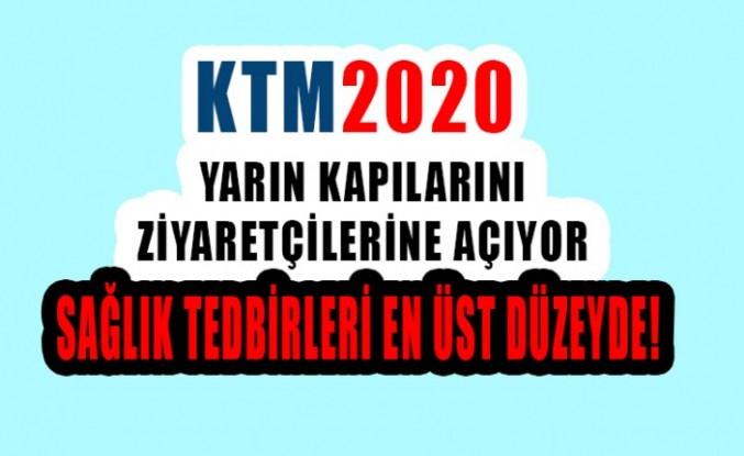 KTM2020 Yarın Kapılarını Ziyaretçilerine Açıyor