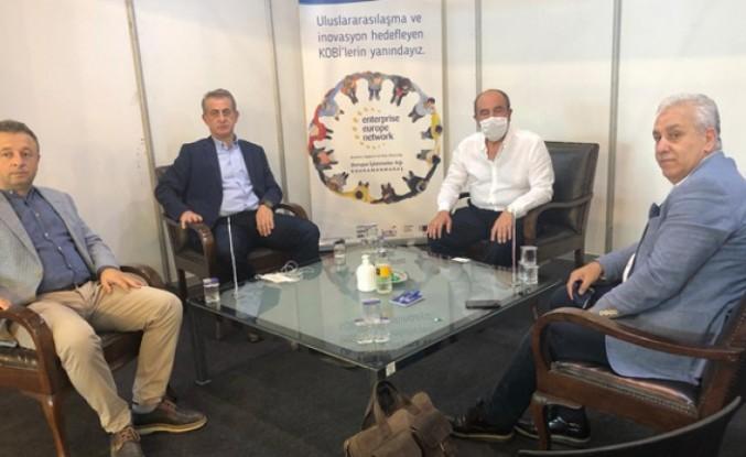 TEMSAD Başkan Yardımcısı Gürel, KTM2020'yi Ziyaret Etti