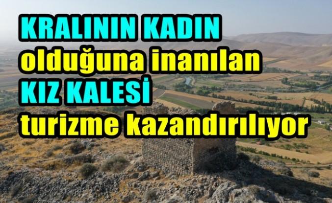 Elbistan'daki Kız Kalesi Turizme Kazandırılacak