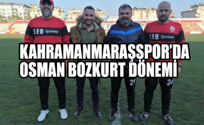 Kahramanmaraşspor'da Osman Bozkurt Dönemi