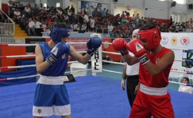 Yıldız Erkekler Türkiye Boks Şampiyonası Gerçekleştirildi