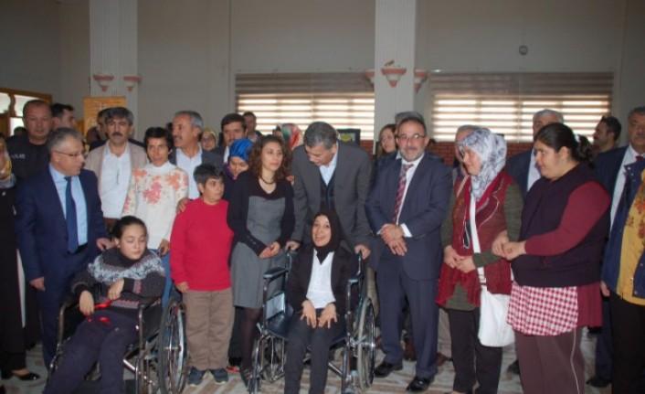 Afşin'de Engelleri Kaldırıyoruz Projesi