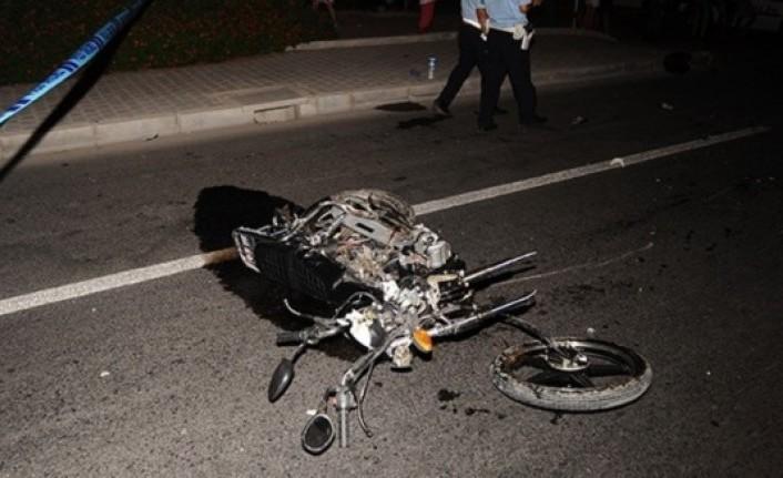 Motosikletin Çarptığı Kişi Öldü