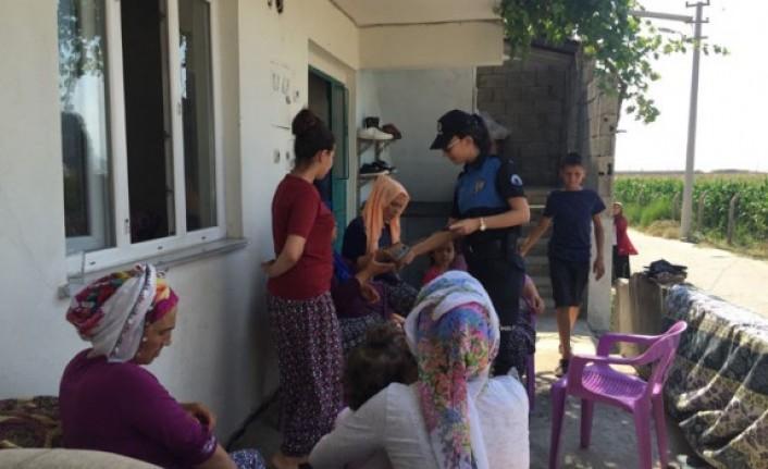 Polisi Görünce Çocukları Boğuldu Sanıp Feryat Ettiler