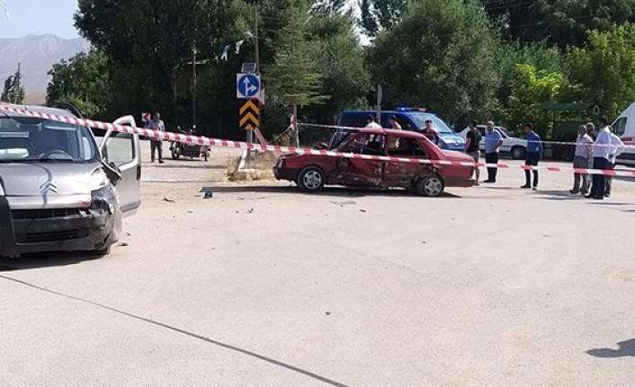 Elbistan'da Feci Kaza Çok Sayıda Yaralı Var