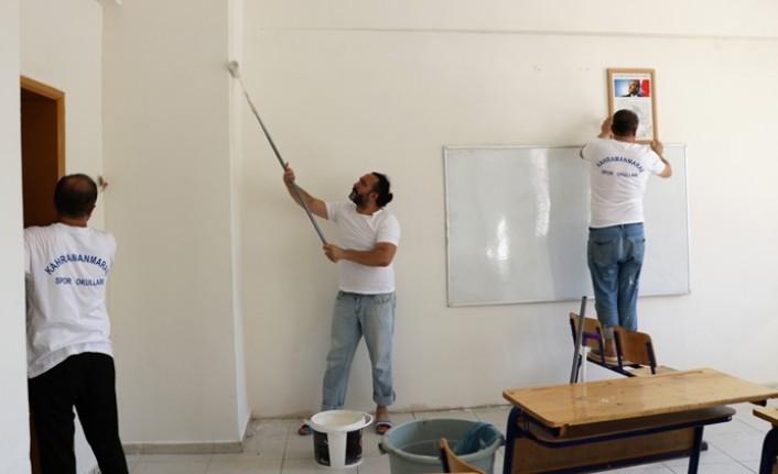 Öğretmenler, Okulu Yeni Eğitim Öğretime Böyle Hazırladı