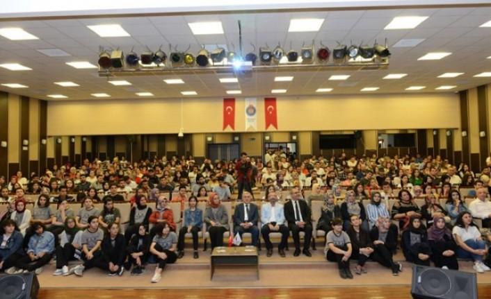 Doç. Dr. İbrahim Sayın KSÜ'de Konferans Verdi