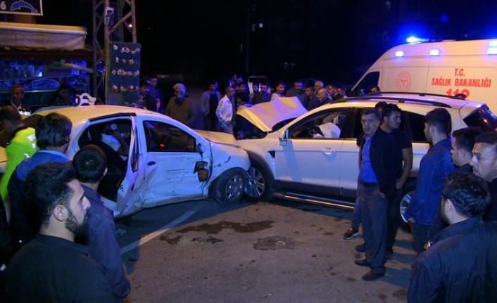 Kahramanmaraş'ta Trafik Kazaları: 4 Yaralı