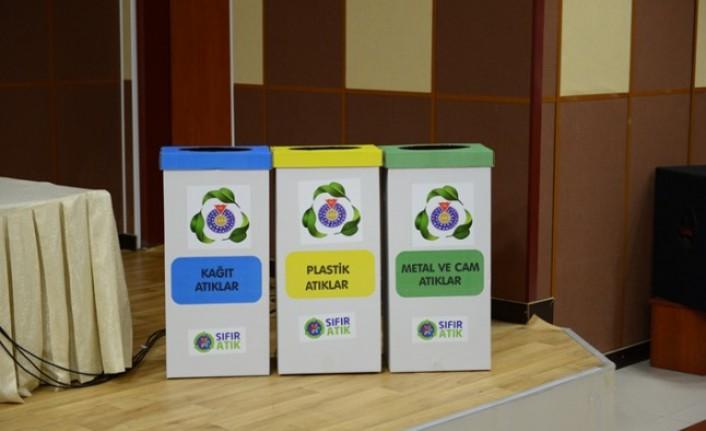KSÜ'de Sıfır Atık Projesinin Bilgilendirmesi  Yapıldı