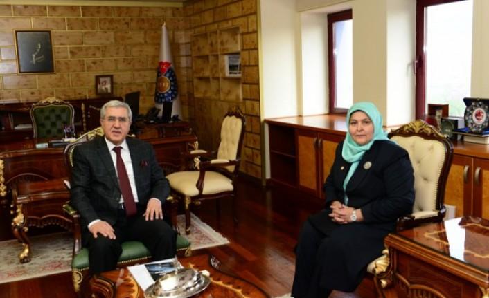 Rektör Can, Kahramanmaraş Milletvekili Öçal'ı Ağırladı