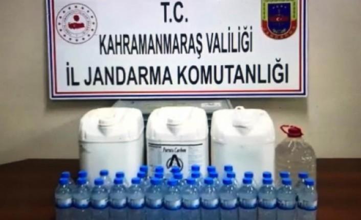 44,5 Litre Kaçak İçki Ele Geçirildi