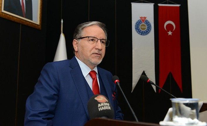 Prof. Dr. Mustafa Karataş KSÜ'de Konferans Verdi