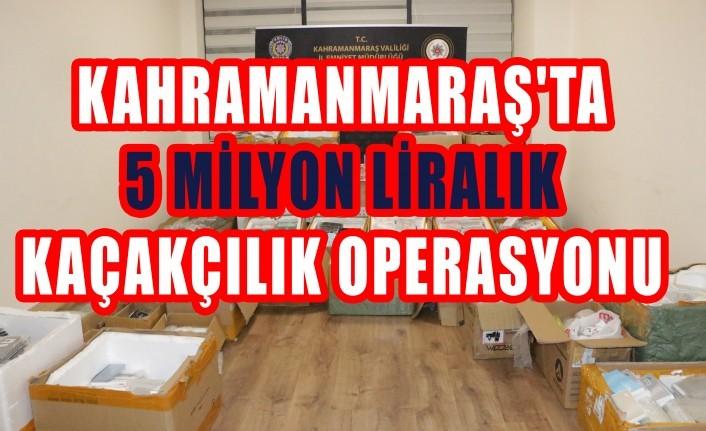 5 Milyon Liralık Kaçakçılık Operasyonu