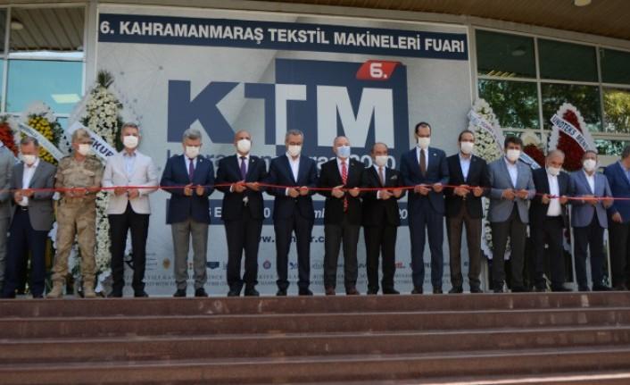 Kahramanmaraş 6. Uluslararası Tekstil Makineleri Fuarı Açıldı