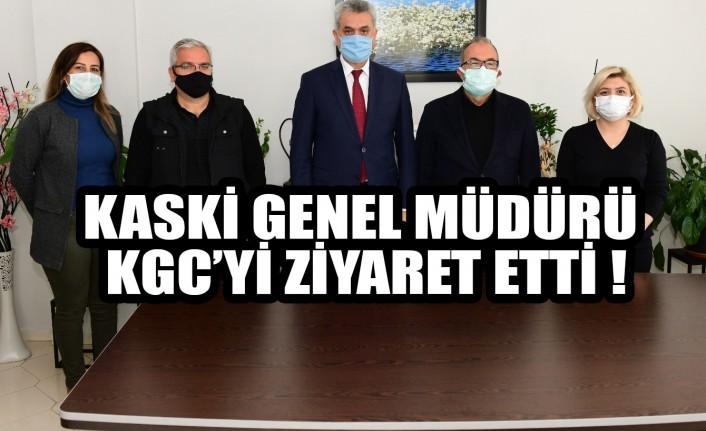 KASKİ Genel Müdürü KGC'yi Ziyaret Etti
